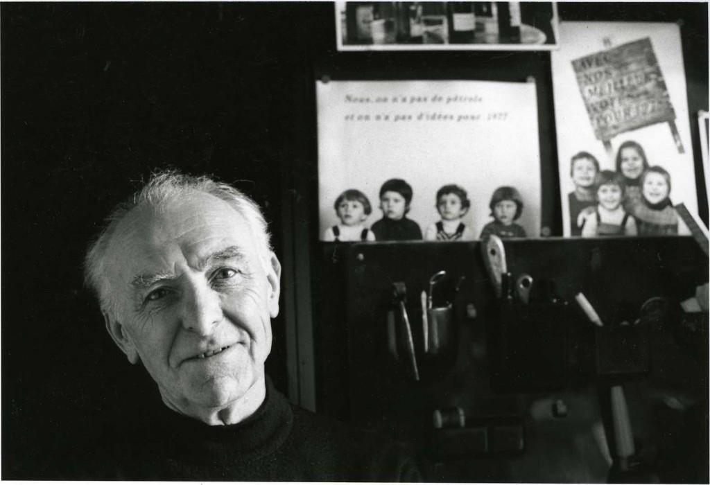 Foto: Bracha L. Ettinger en su estudio en Montrouge, 1992